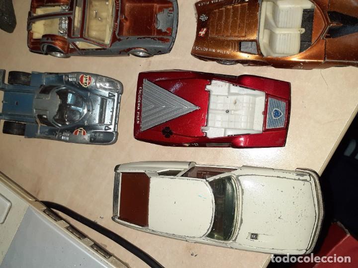Coches a escala: Auto Pilen.Lote de 8 miniaturas años 70 para piezas o restaurar.Desguace.Citroen,Seat,Mini,..... - Foto 6 - 204139586