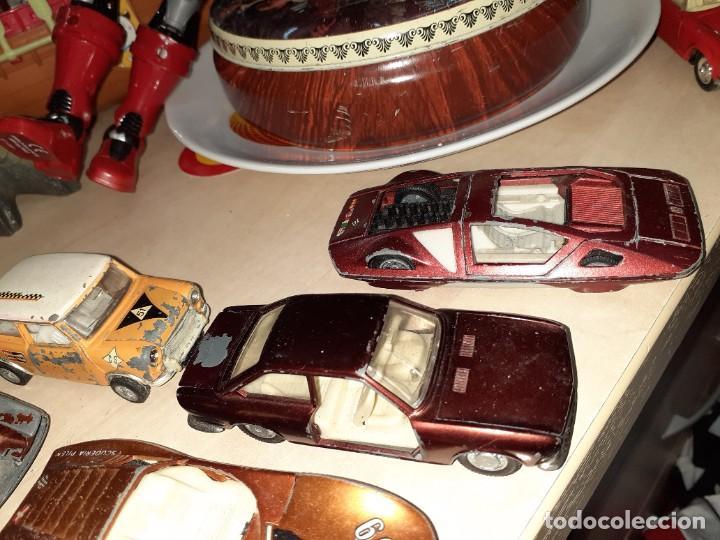 Coches a escala: Auto Pilen.Lote de 8 miniaturas años 70 para piezas o restaurar.Desguace.Citroen,Seat,Mini,..... - Foto 8 - 204139586