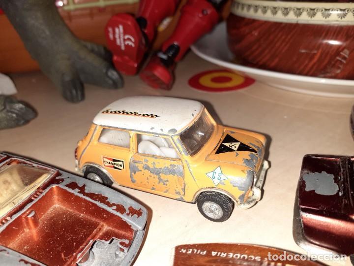 Coches a escala: Auto Pilen.Lote de 8 miniaturas años 70 para piezas o restaurar.Desguace.Citroen,Seat,Mini,..... - Foto 9 - 204139586