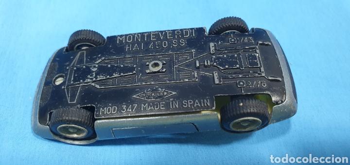 Coches a escala: Coche monteverdi Haití 450 ss, pilen , mod 347, escala1/43. made in spain - Foto 6 - 205185193