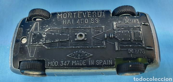Coches a escala: Coche monteverdi Haití 450 ss, pilen , mod 347, escala1/43. made in spain - Foto 7 - 205185193
