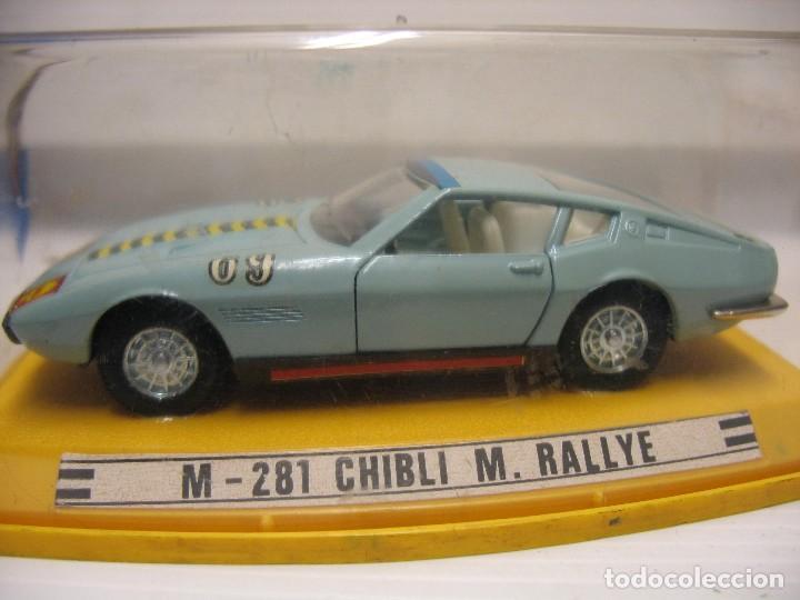 M-281 M.RALLIE CHIBLI (Juguetes - Coches a Escala 1:43 Pilen)