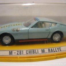 Coches a escala: M-281 M.RALLIE CHIBLI. Lote 206588847