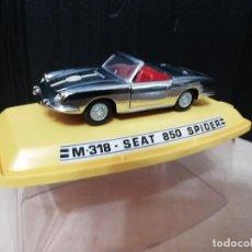 Coches a escala: SEAT 850 SPIDER CROMADO DE PILEN. Lote 215479138