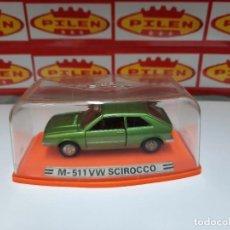 Coches a escala: PILEN VW SCIROCCO M-511 EN CAJA NUEVO!!. Lote 215535740