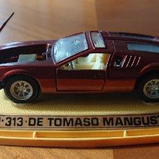 Coches a escala: PILEN, COCHE TOMASO MANGUSTA, EN CAJA ORIGINAL, VED FOTOS Y BUEN ESTADO. Lote 218343485