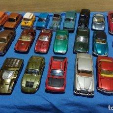 Carros em escala: PILEN 16 COCHES 1/43 CORGI TOYS POLITOYS. Lote 220282360