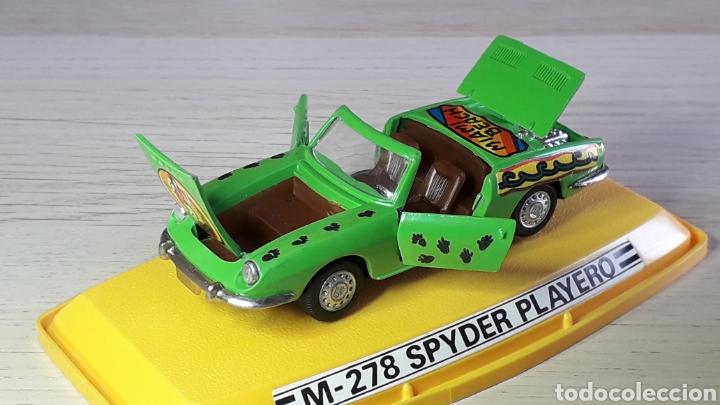 Coches a escala: Seat 850 Spyder Playero ref 278, metal 1/43, Pilen Ibi made in Spain, original años 70. Con caja - Foto 5 - 220455231
