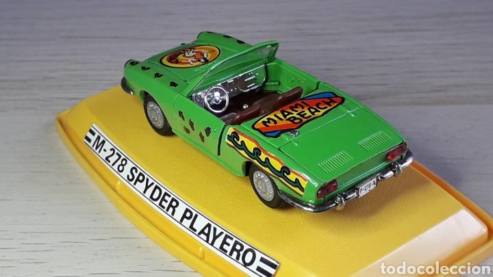 Coches a escala: Seat 850 Spyder Playero ref 278, metal 1/43, Pilen Ibi made in Spain, original años 70. Con caja - Foto 6 - 220455231