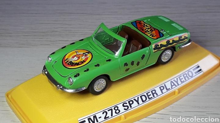 SEAT 850 SPYDER PLAYERO REF 278, METAL 1/43, PILEN IBI MADE IN SPAIN, ORIGINAL AÑOS 70. CON CAJA (Juguetes - Coches a Escala 1:43 Pilen)