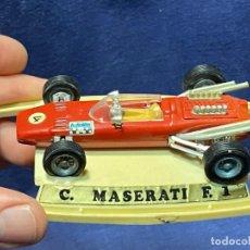 Carros em escala: COCHE MASERATI F 1 12X7,5CMS AUTO PILEN. Lote 220759050