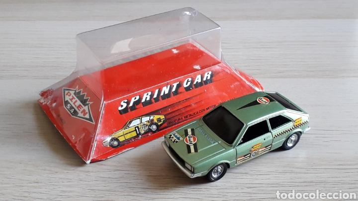 Coches a escala: VW Volkswagen Scirocco Sprint Car, metal esc. 1/43, Pilen made in Spain, original años 70. Caja. - Foto 2 - 221162947