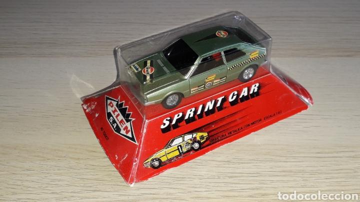 Coches a escala: VW Volkswagen Scirocco Sprint Car, metal esc. 1/43, Pilen made in Spain, original años 70. Caja. - Foto 3 - 221162947
