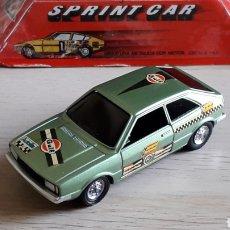 Coches a escala: VW VOLKSWAGEN SCIROCCO SPRINT CAR, METAL ESC. 1/43, PILEN MADE IN SPAIN, ORIGINAL AÑOS 70. CAJA.. Lote 221162947