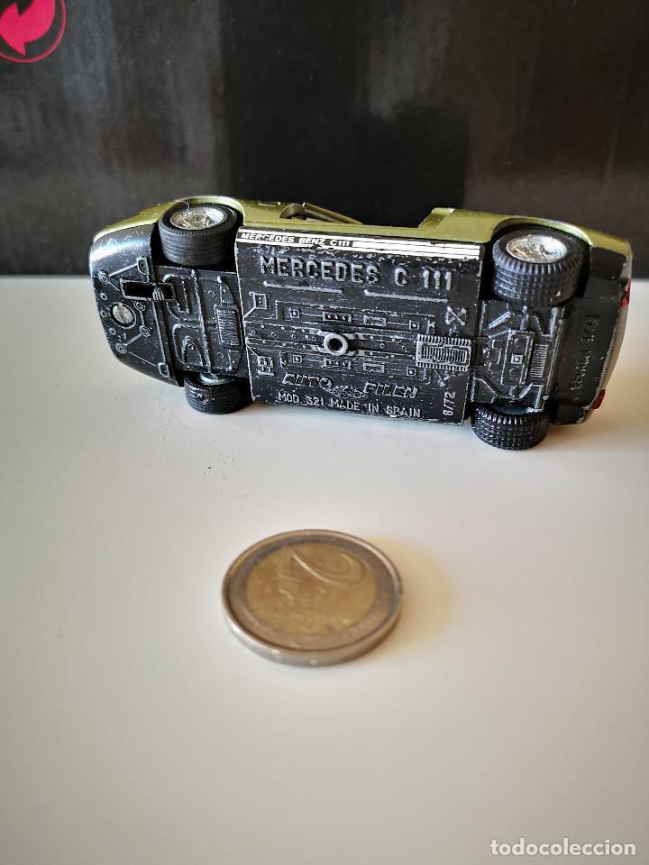 Coches a escala: MERCEDES BENZ C 111 PILEN C111 MODEL 321 LEER DESCRIPCION Y VER FOTOS - Foto 5 - 221695562