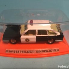 Coches a escala: PILEN TALBOT 150 POLICIA M553. Lote 199483335
