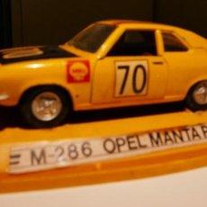 Coches a escala: OPEL MANTA RALLYE, 1:43, PILEN. Lote 235299980