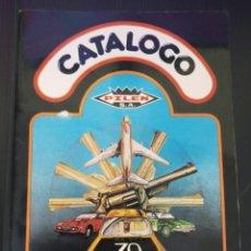 Coches a escala: CATÁLOGO PILEN 1979. Lote 260272635