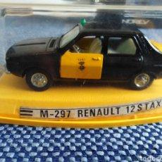 Coches a escala: RENAULT 12 S TAXI DE BARCELONA M-297 DE PILEN.. Lote 262512965
