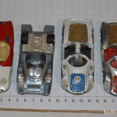 Coches a escala: LOTE ANTIGUO DE PILEN / AUTO PILEN - ESCALA 1/43 - 1:43 / 4 MODELOS VARIADOS ¡MIRA FOTOS Y DETALLES. Lote 276816478