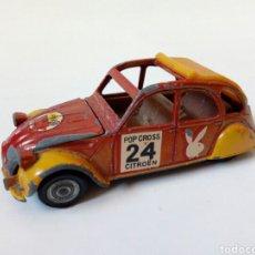 Coches a escala: CITROEN 2CV (POP CROSS CITROËN) - AUTO PILEN MOD. 511 - ESCALA 1/43 - MADE IN SPAIN. Lote 280385948