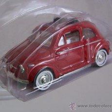 Coches a escala: FIAT NUOVO 500 - SOLIDO (NUEVO , SIN ESTRENAR, CON REVISTA ITALIANA DE COLECCIONISMO). Lote 20124975