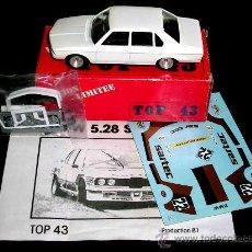 Coches a escala: BMW 528 SARTEC REF. 22, FABRICADO EN METAL 1/43, SOLIDO TOP 43, ORIGINAL AÑOS 80. CON CAJA.. Lote 61296203