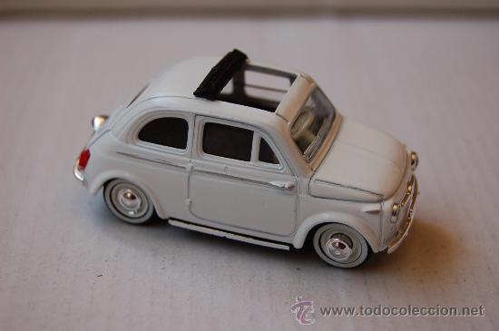31-120. COCHE ESCALA 1/35 DE SOLIDO. FIAT 500 DE 1957 (Juguetes - Coches a Escala 1:43 Solido)
