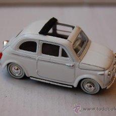 Coches a escala: 31-120. COCHE ESCALA 1/35 DE SOLIDO. FIAT 500 DE 1957. Lote 27829000