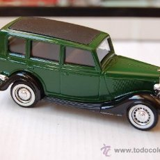 Coches a escala: 31-123. COCHE FORD V8. 1936. ESCALA 1/43 SOLIDO. Lote 27968205