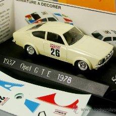 Coches a escala: OPEL GTE RALLYE 1978 - SOLIDO VINTAGE - ESCALA 1/43 - NUEVO EN CAJA - RARO!!. Lote 28871130