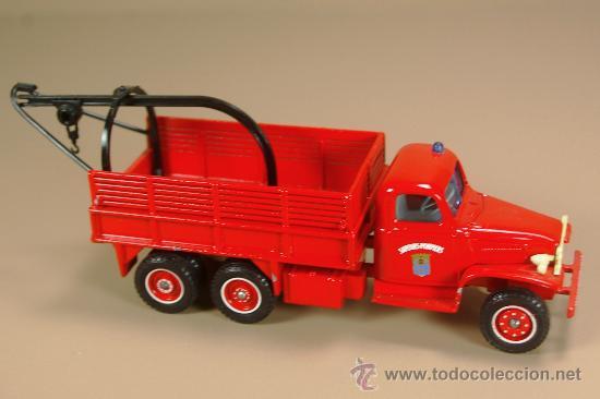 Coches a escala: GMC Dépanneuse FIRE TRUCK - CAMION Sapeur Pompiers - SOLIDO 1/50 - Bomberos - Foto 2 - 29871631