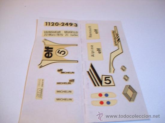 Coches a escala: SOLIDO Nº57 -ALPINE TURBO - Foto 8 - 30424551