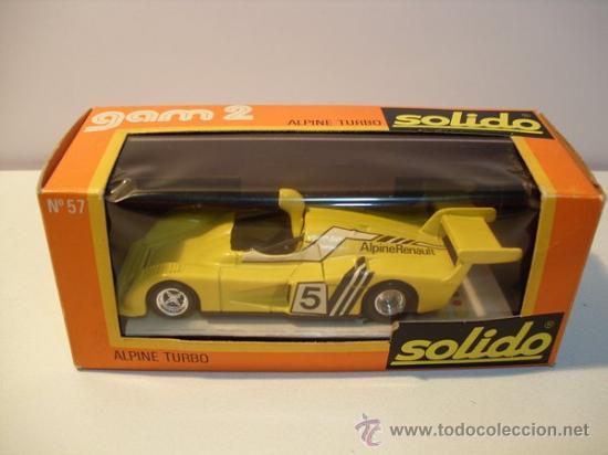 Coches a escala: SOLIDO Nº57 -ALPINE TURBO - Foto 9 - 30424551