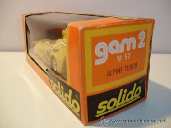 Coches a escala: SOLIDO Nº57 -ALPINE TURBO - Foto 10 - 30424551