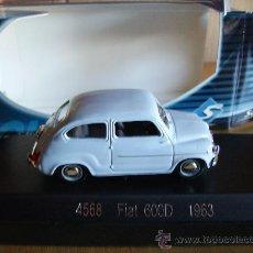 Coches a escala: SOLIDO ---- FIAT 600 D 1963. Lote 30801419