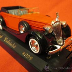 Coches a escala: PACKARD CABRIOLET SOLIDO L'AGE D'OR N4099 EN URNA. Lote 36091575