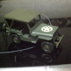 Coches a escala: JEEP WILLYS DEL EJERCITO. Lote 36243722