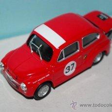 Coches a escala: SEAT/FIAT ABARTH 1000 (SEAT 600 COLECC) 1/43, NUEVO . Lote 38424393