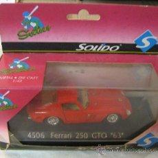 Coches a escala: FERRARI 250 GTO DEL 63 EN CAJA.. Lote 38632075