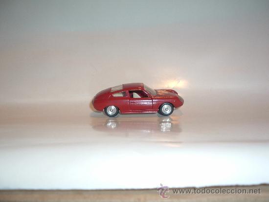Coches a escala: FIAT ABARTH 1000, 1/43, ORIGINAL DE 1962 DE SOLIDO, REF. 124, 9/62. VERY GOOD CONDITION IN BOX. - Foto 4 - 39052332