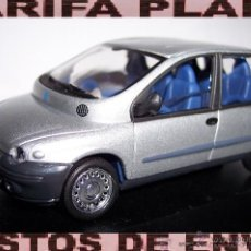 Coches a escala: FIAT MULTIPLA ESCALA 1:43 DE SOLIDO EN CAJA NO ORIGINAL. Lote 54292725