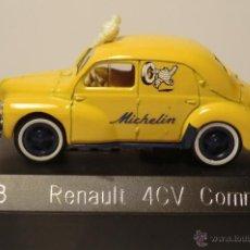 Coches a escala: SOLIDO RENAULT 4CV MICHELIN 1/43. Lote 40898330