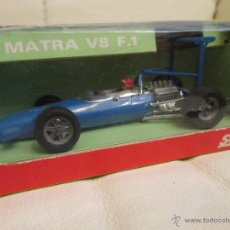 Coches a escala: SOLIDO 1969 MATRA V8 F.1 EN SU CAJA. Lote 42682276