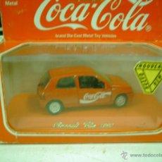 Coches a escala: RENAULT CLIO PUBLICIDAD COCA.COLA SOLIDO. Lote 43696954