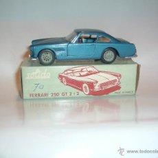 Coches a escala: SOLIDO ANTIGUO, FERRARI 250 GT 2+2, 1/43, REF. 123. Lote 44859387