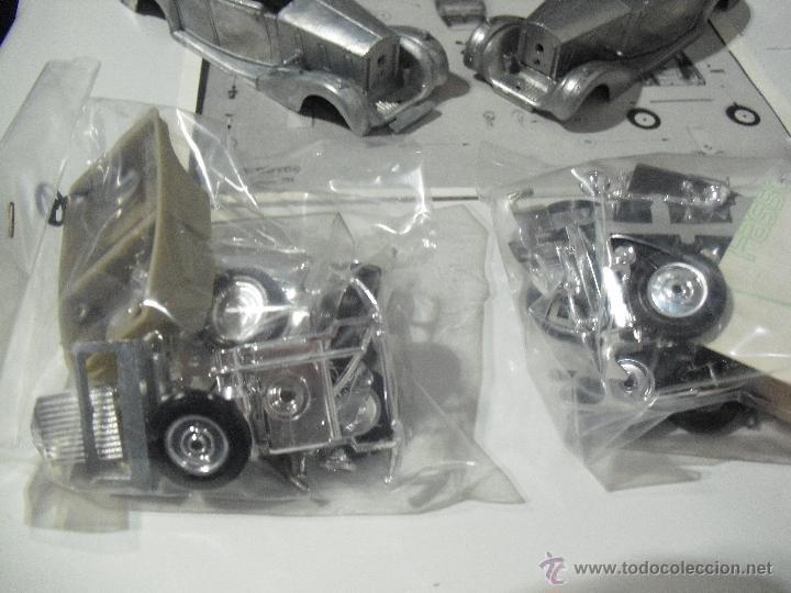 Coches a escala: Kit Solido Metal, 2 Rolls-Royce para montar,Coupe de Ville,Phantom III,1939,Escala 1:43 - Foto 2 - 45657002