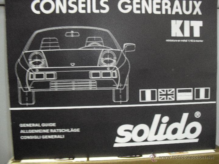 Coches a escala: Kit Solido Metal, 2 Rolls-Royce para montar,Coupe de Ville,Phantom III,1939,Escala 1:43 - Foto 3 - 45657002