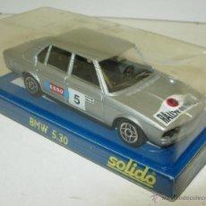Coches a escala: COCHE NUEVO CON CAJA SOLIDO 1/43 BMW 5.30 530 RALLYE DU MAROC. Lote 163763174
