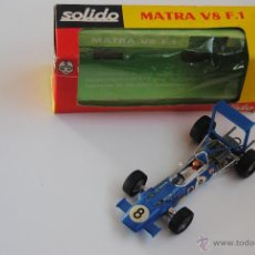 Coches a escala: COCHE MATRA V8 F1 SOLIDO MADE IN FRANCE. Lote 47633488